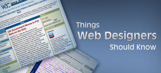 10 Things Every Web Designer Just Starting Out Should Know